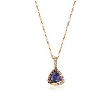 Blueberry Tanzanite® Chocolatier® Pendant