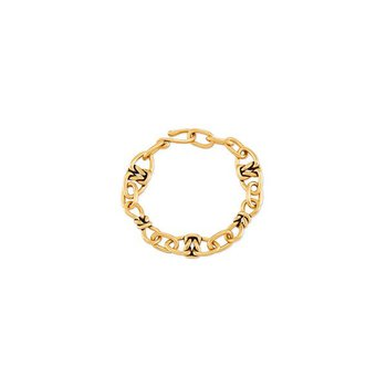 Fallyn Link Bracelet in Vintage Gold