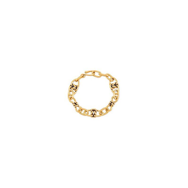 Kendra Scott Fallyn Link Bracelet in Vintage Gold