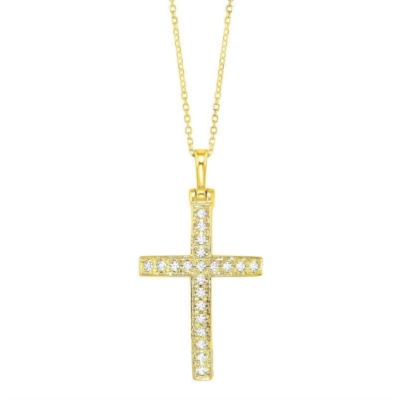 Kelley Collection  Diamond Cross Pendant