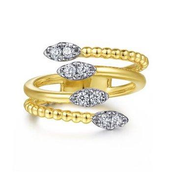 Diamond Bujukan Bypass Ring