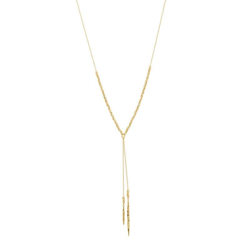 Gorjana Laguna Adjustable Necklace in Gold