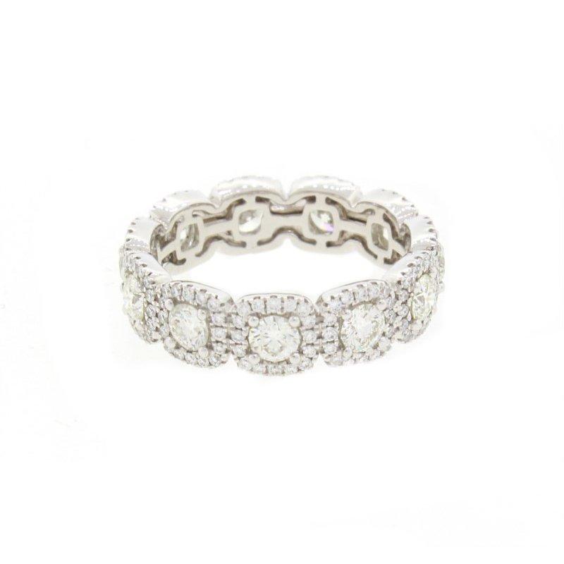 Natalie K (M.K. Diamonds & Jewelry) Forevermark Eternity Ring