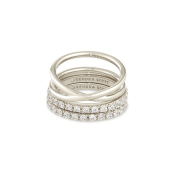 Livy Rings in Silver (Size 8)
