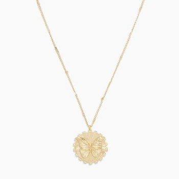 Butterfly Totem Necklace