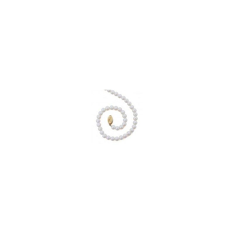 Honora White Freshwater Cultured Pearl Strand (6mm)
