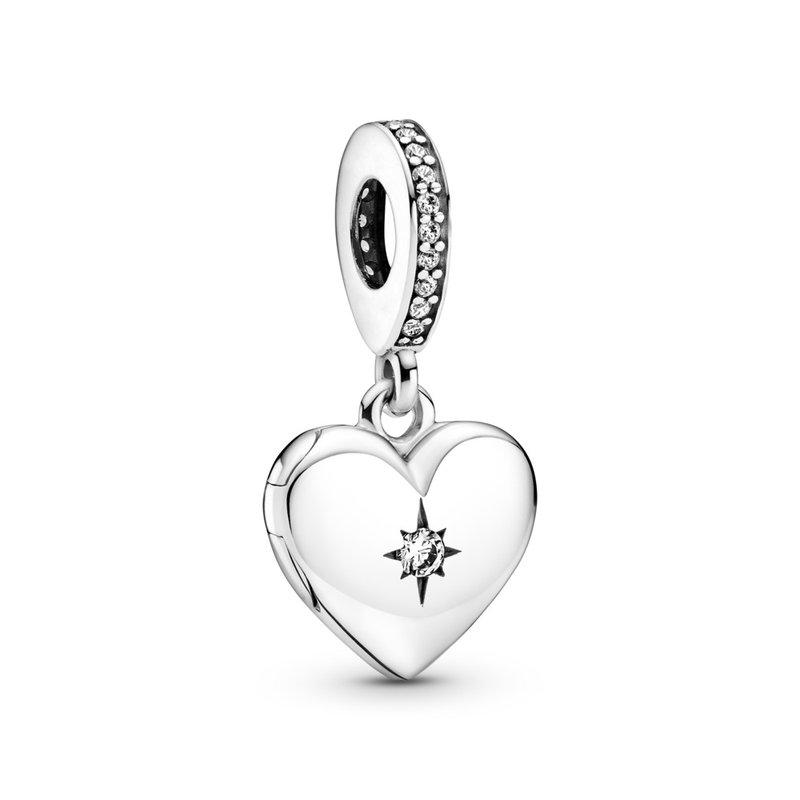 PANDORA Openable Heart Locket Dangle Charm