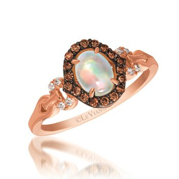 Neopolitan Opal™ & Chocolate Diamond® Ring