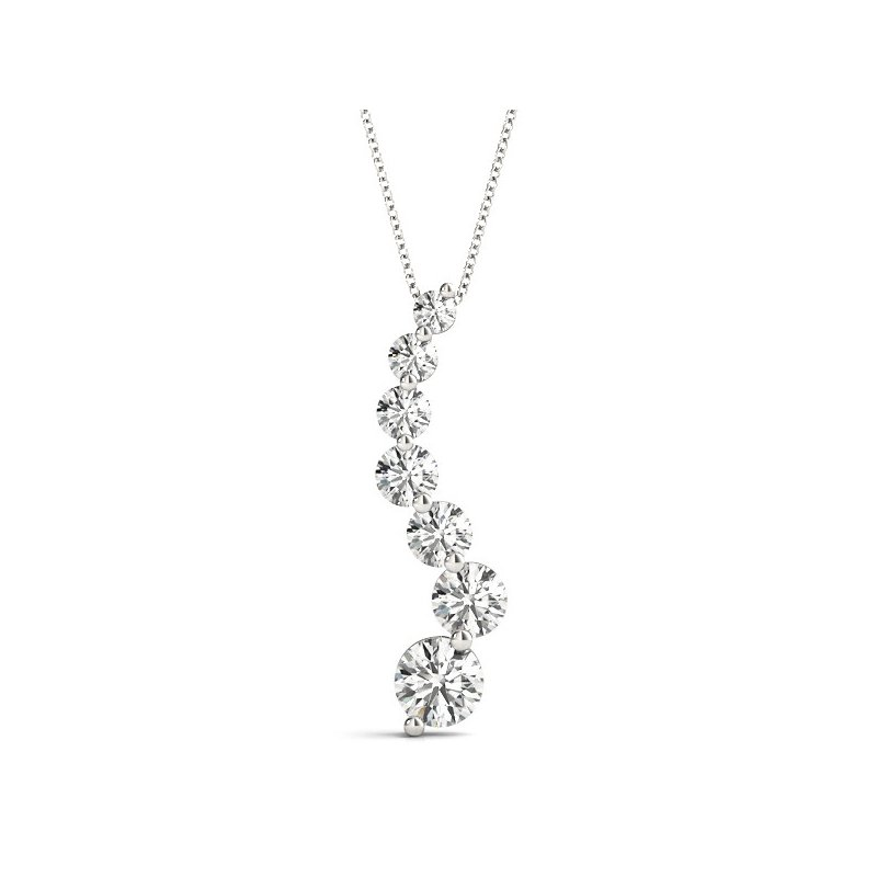 Kelley Collection  Diamond Journey Pendant