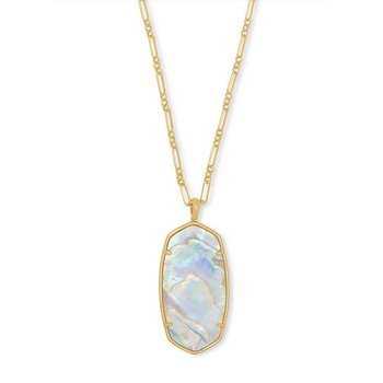 Faceted Reid in Iridescent Abalone