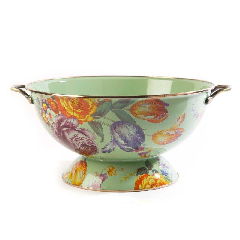 MacKenzie-Childs Flower Market Everything Bowl - Green
