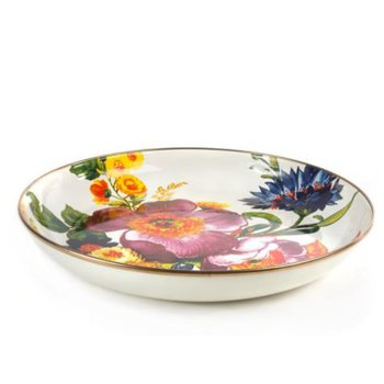 Flower Market Abundant Bowl - White