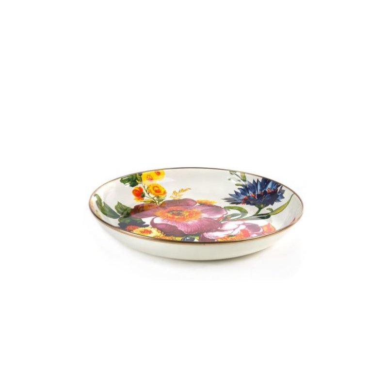 MacKenzie-Childs Flower Market Abundant Bowl - White