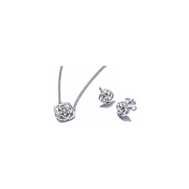 PANDORA Rose Petals Jewelry Gift Set