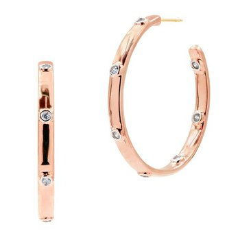 Radiance Chunk C-Hoop Earrings