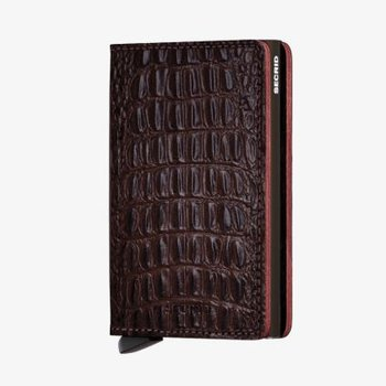 Slimwallet in Nile Brown