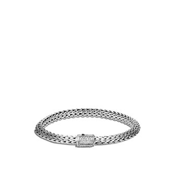 Tiga Chain Bracelet with Diamonds