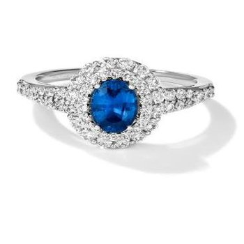 Blueberry Sapphire™ Couture® Ring