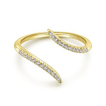 Diamond Open Wrap Ring
