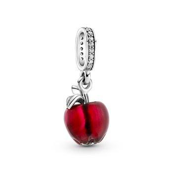 Murano Glass Red Apple Dangle Charm