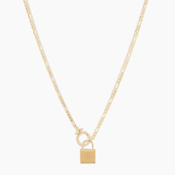 Charlie Necklace in Gold