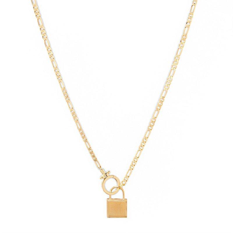 Gorjana Charlie Necklace in Gold