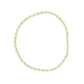 Hope Grateful Pattern Bracelet - Mint