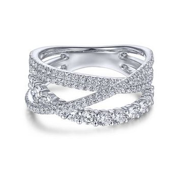 Diamond Layered Ring