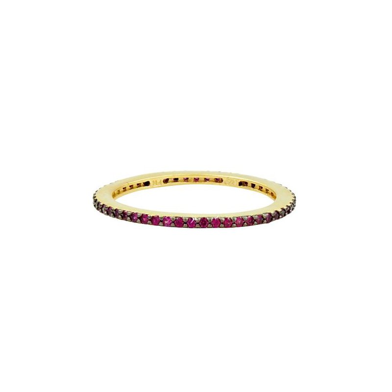 Freida Rothman All Pave Red Stackable Ring