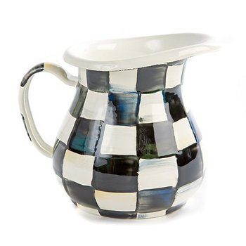 Courtly Check Enamel Creamer