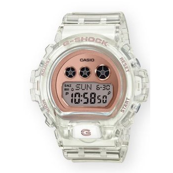 G-Shock Transparent Compact in Rose Gold Metallic