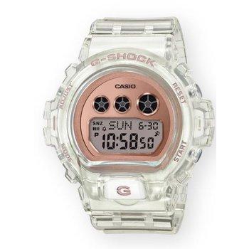 G-Shock Transparent Compact in Rose Gold Metallic