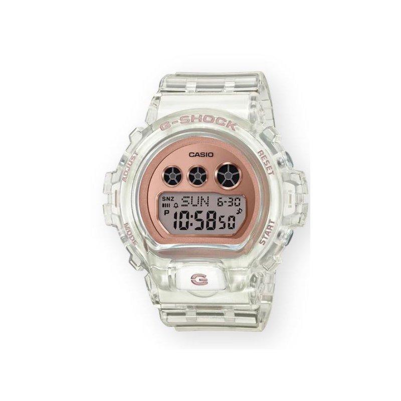 G-Shock G-Shock Transparent Compact in Rose Gold Metallic