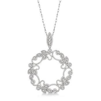 Diamond Floral Circle