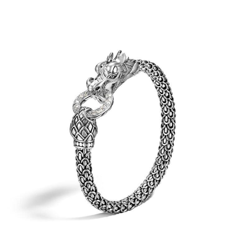 John Hardy Naga Station Bracelet with Diamonds