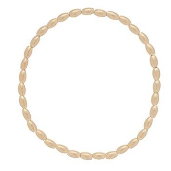 Harmony Small Gold Bead Bracelet