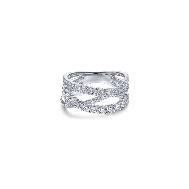 Kelley Collection  Layered Diamond Ring