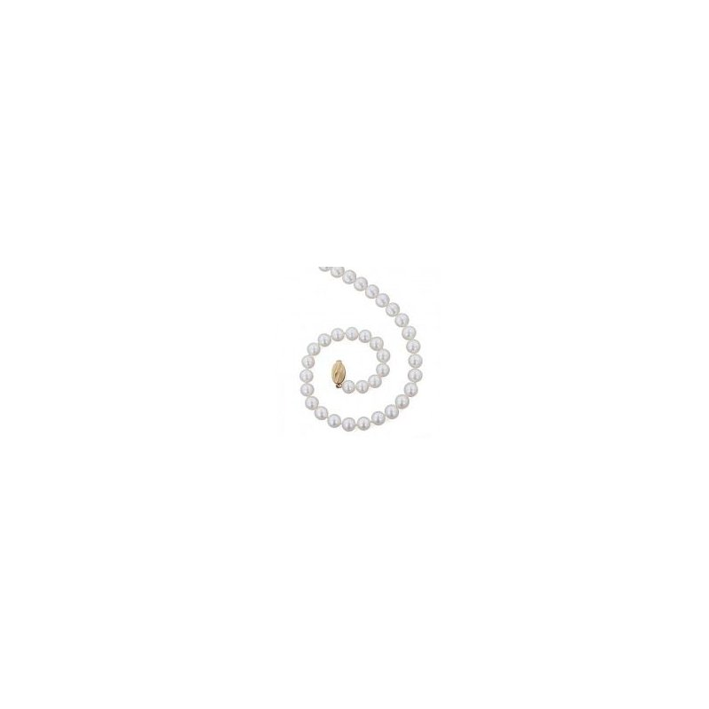 Honora White Freshwater Cultured Pearl Strand (9mm)