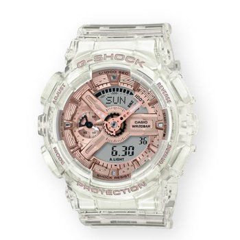Transparent Watch with Pink