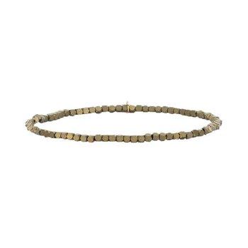 Carmen Bracelet in Matte Gold