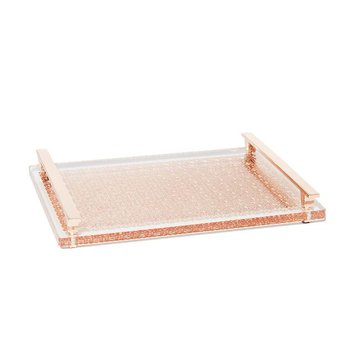 Filigree Tray in Rose Gold