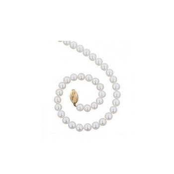 Classic White Freshwater Cultured Pearl Strand (6+mm)