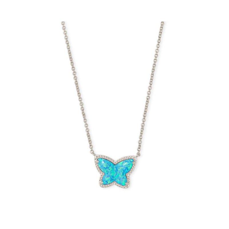 Kendra Scott Lillia Butterfly Pendant in Turquoise Opal