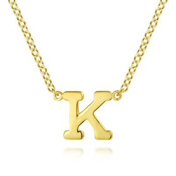 """""""K"""" Initial Necklace"""