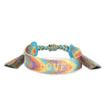 Love Friendship Bracelet In Multi Mix