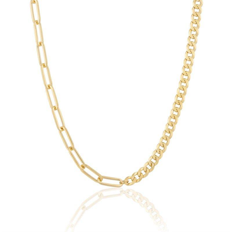 Ela Rae Jewelry, LLC Mismatch ~7C Half & Half Collar