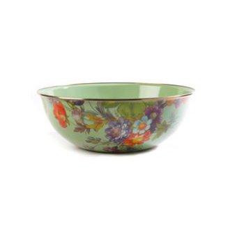 Flower Market Extra Large Everyday Bowl - Green
