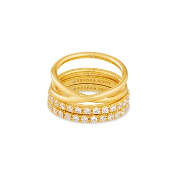 Livy Rings in Gold (Size 7)