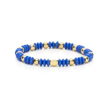 Bev Bracelet in Cobalt and Gold