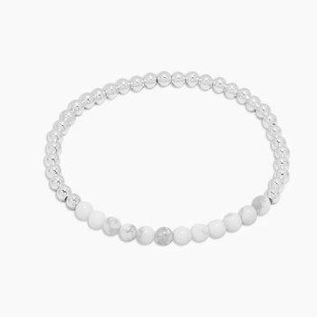 Power Gemstone Aura Bracelet for Calming